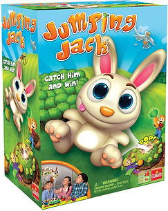 Jumping Jack game by Goliath Games- great cause/effect game for speech therapy