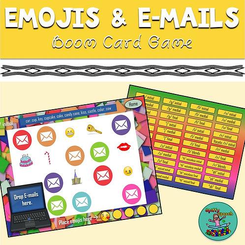 Emojis & E-mails Boom Card Game