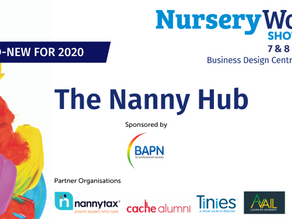 The NannyHub launches at the Nursery World Show 2020