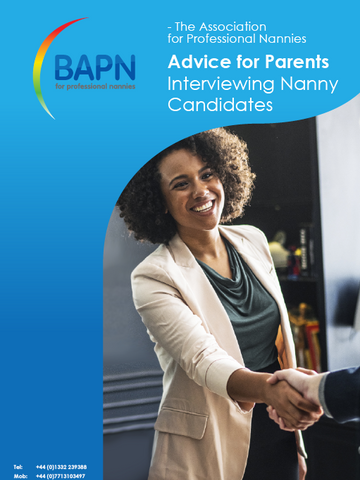 Advice for Parents Interviewing Nanny Candidates