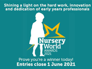 Thinking about entering the 2021 Nursery World Nanny of the Year Award?