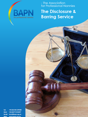 The Disclosure and Barring Service