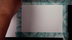 Adding a Washi Tape barrier!