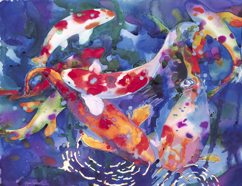 Koi Fish NO.4