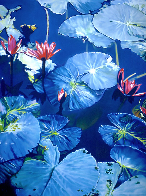 WATERLILIES NO.3    Mini Print