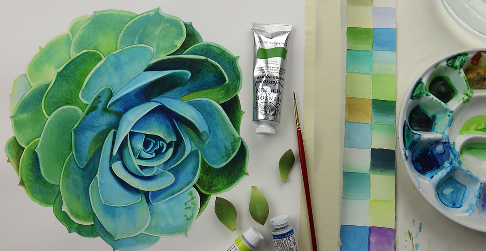 Don't forget to Sign Up for my Online Watercolors Classes coming soon!