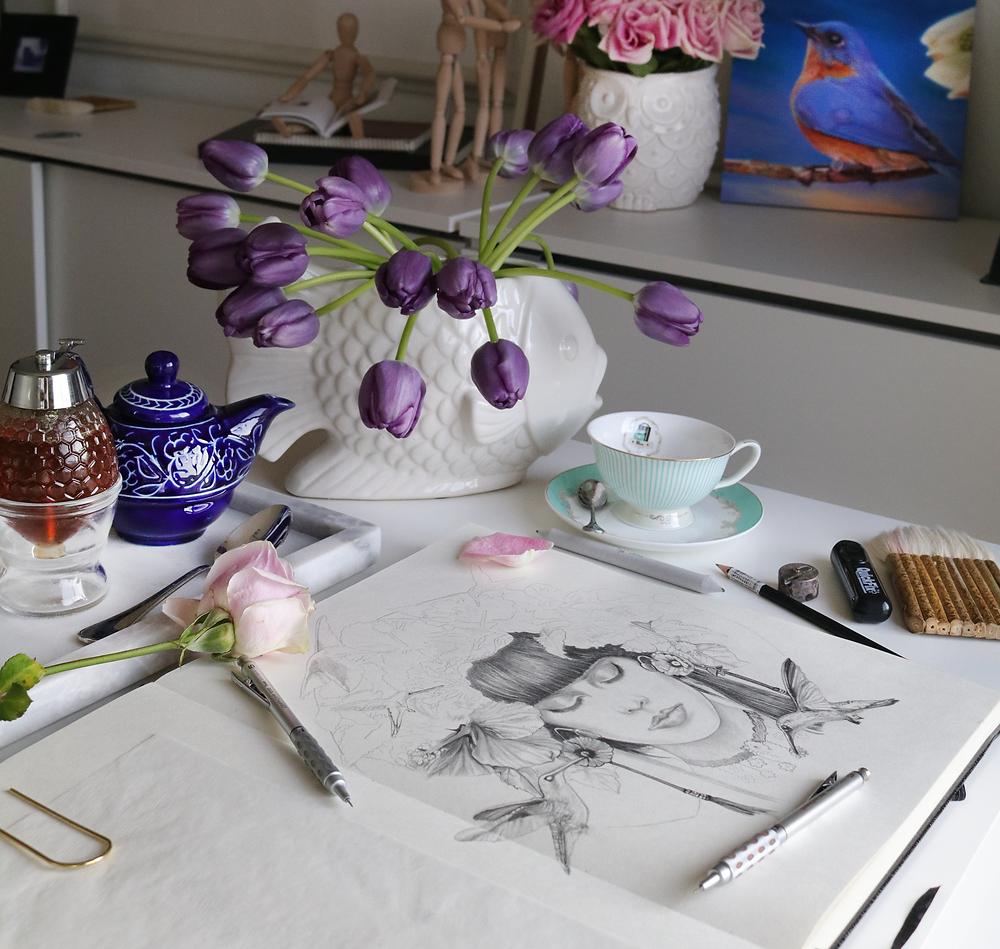 Sketching daily!