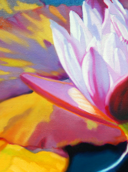 WATERLILIES No.9     Original Painting