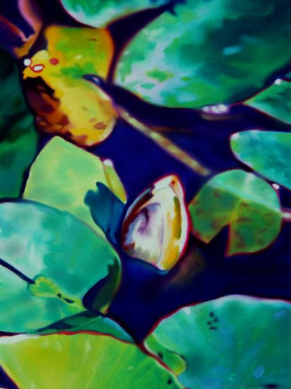 Waterlilies No. 12   Original Painting