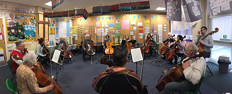 cellos and basses in circle.jpg