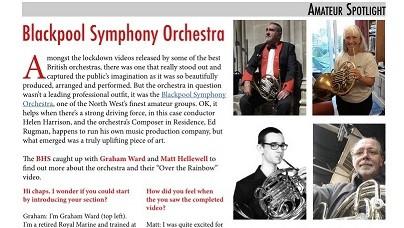 'Amateur Spotlight' in The Horn Player Summer 2020
