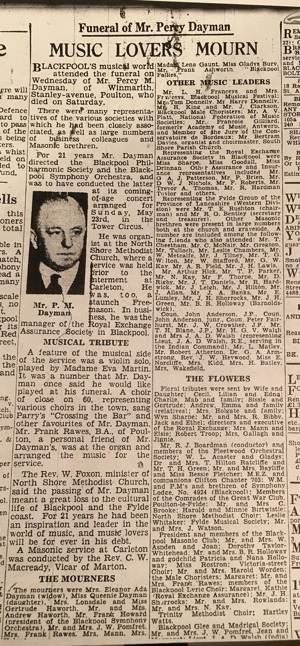Gazette and Herald 8 May 1943 p14 music