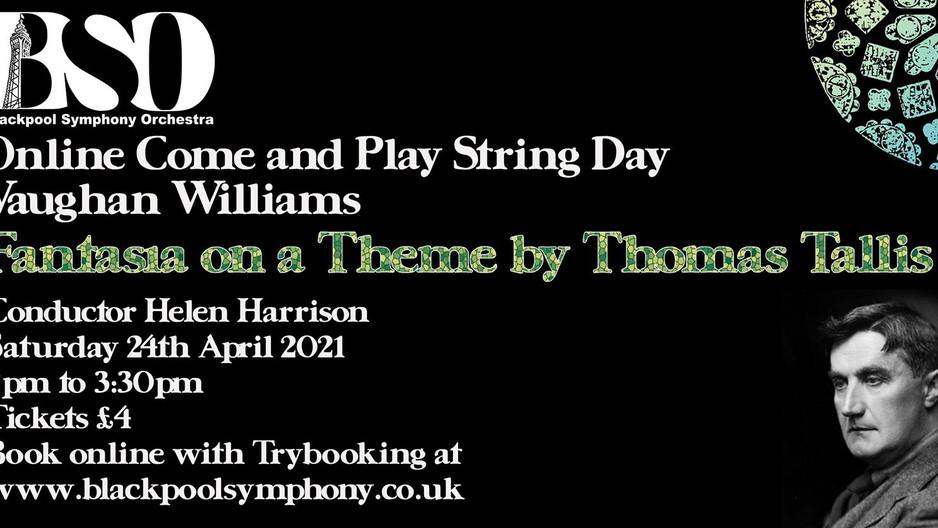 Online String Day, Waitrose Magazine and 'Bringing Music Back'