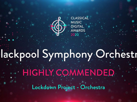Classical Music Digital Awards - Highly Commended