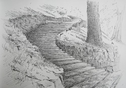 San Miniato Sketch 2