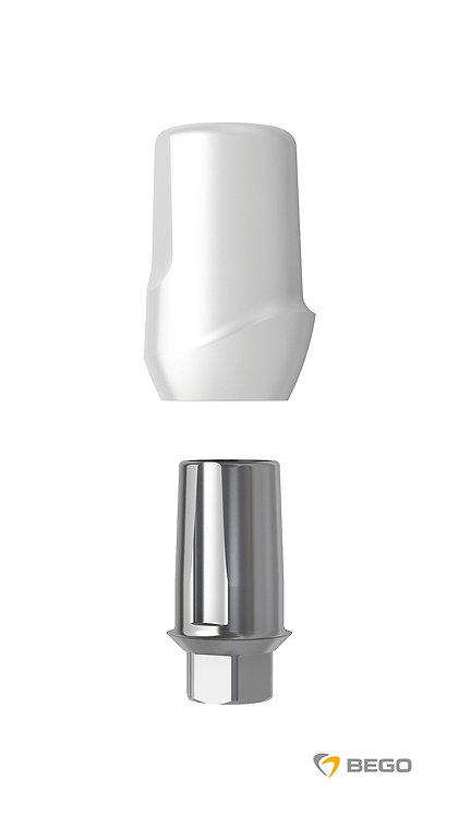 Ceramic abutment, BeCe Sub-TecPlus Ceramic abutment, S/RI 3.25-3.75, 1 unit (57680)