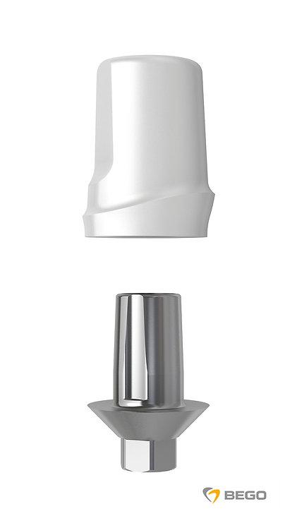 Ceramic abutment, BeCe Sub-TecPlus Ceramic abutment, S/RI 5.5, 1 unit (57683)