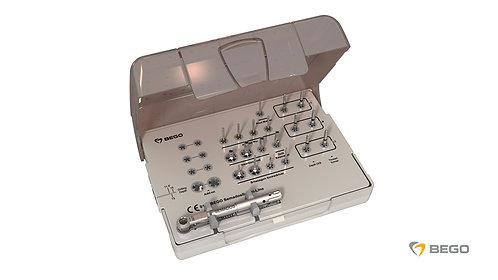 Prosthodontic tray, Prosthetic kit, 1 unit