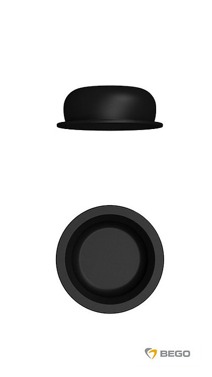 Production insert Easy-Con female part, Easy-Con production insert (black)