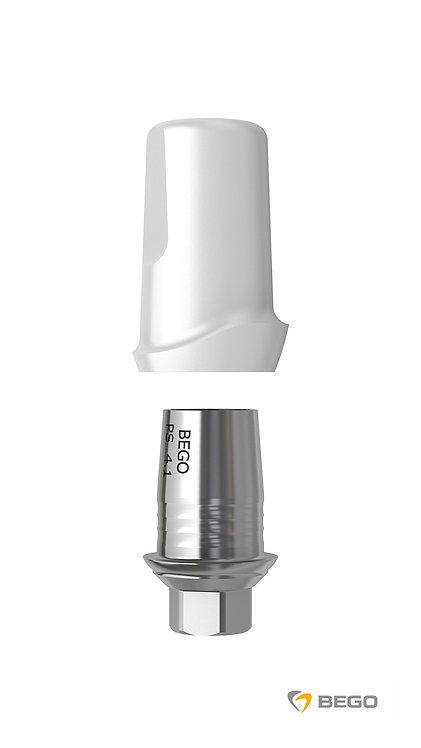 Ceramic abutments Platform Switch, PS CATi, SC/SCX/RS/RSX/RI* 4.1, 1 unit