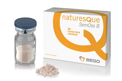 Bovine bone sub material, naturesQue SemOss B, 1.0 - 2.0mm, 1 unit/ 2.0g; 4.0ml (58506)