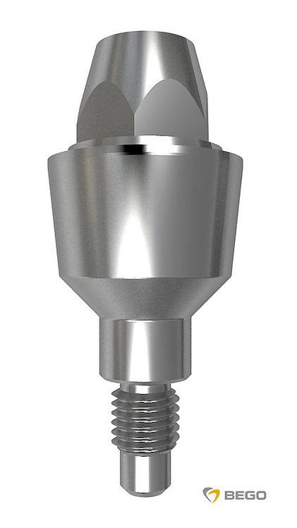 MultiPlus abutment, Sub-Tec MultiPlus abutment, 0° GH 3 S/RI 4.5, 1 unit
