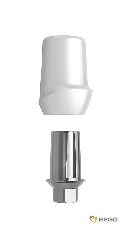 Ceramic abutment, BeCe Sub-TecPlus Ceramic abutment, S/RI 4.1, 1 unit (57681)
