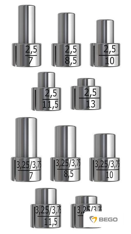 Drill stop, Drill stops, Ø 2.5 + S/SC/SCX 3.25-3.75, 1 set