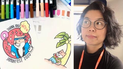 Meet & Greet with Shirley Susilo, Manga Artist & JapanFest Graphic Designer