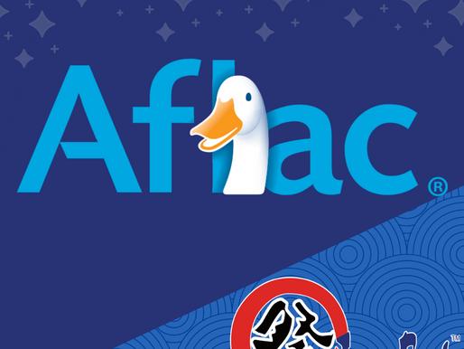 Subarashii Sponsor- Aflac!