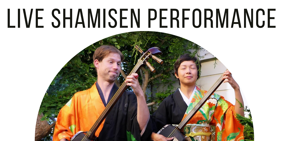 Live Shamisen Performance