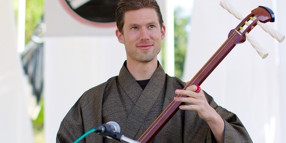 Shamisen Performance with Kyle Abbott from Bachido