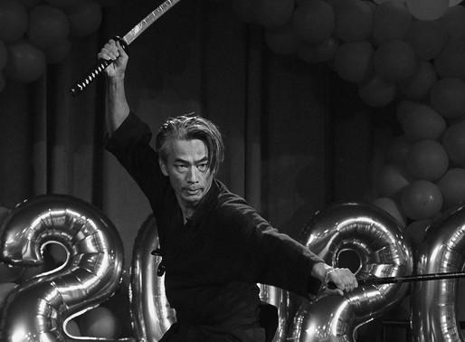 Yoshi Amao, Modern Samurai - Wasshoi Wednesday #2