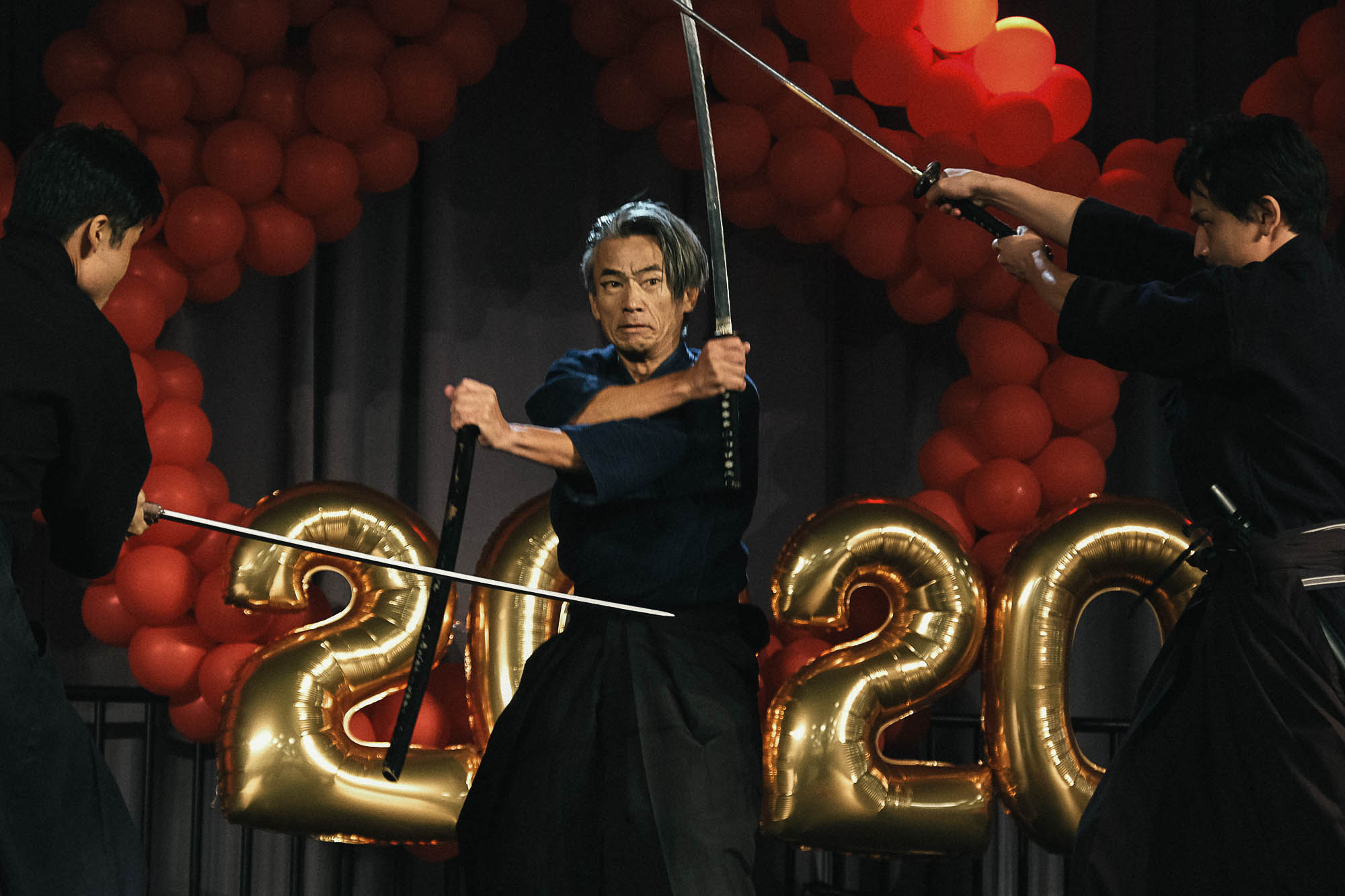 Samurai Workshop with Yoshi Amao from Samurai Sword Soul