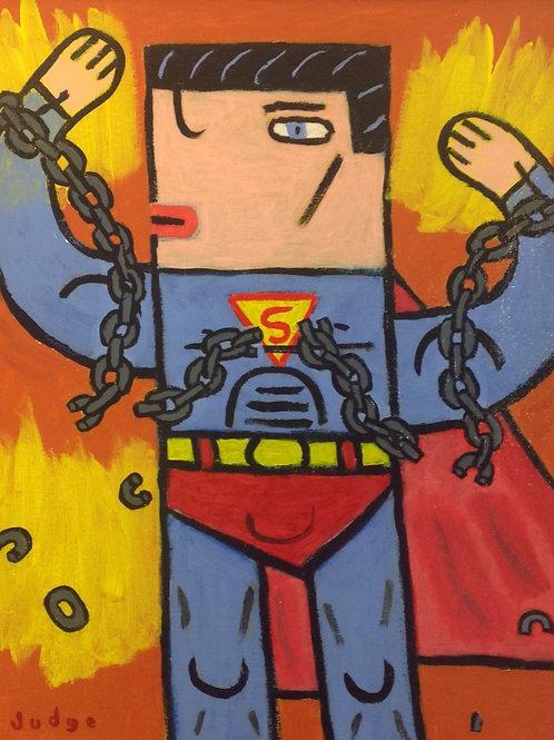 Superman Painting