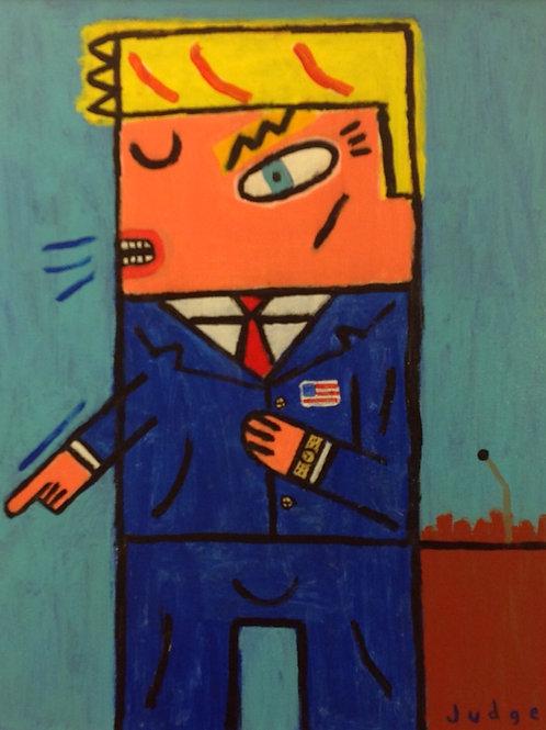 President Trump Painting