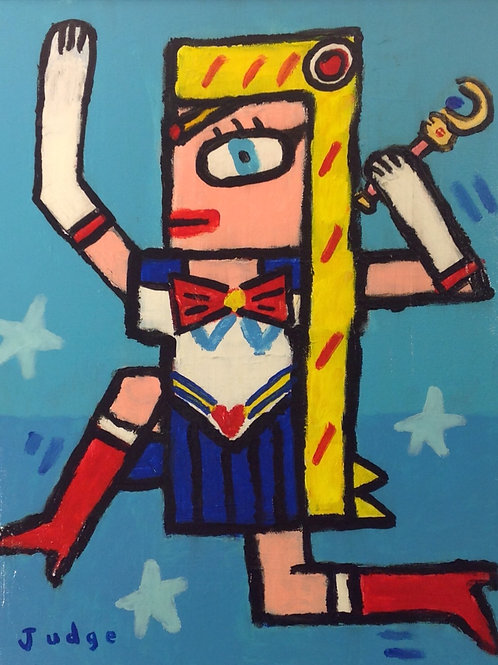 Sailor Moon Painting
