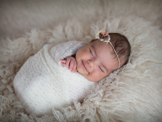 The Where, When, How And What Of A Newborn Photography Session