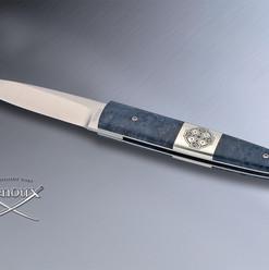 Couteau à Secret - Mitres centrales gravées