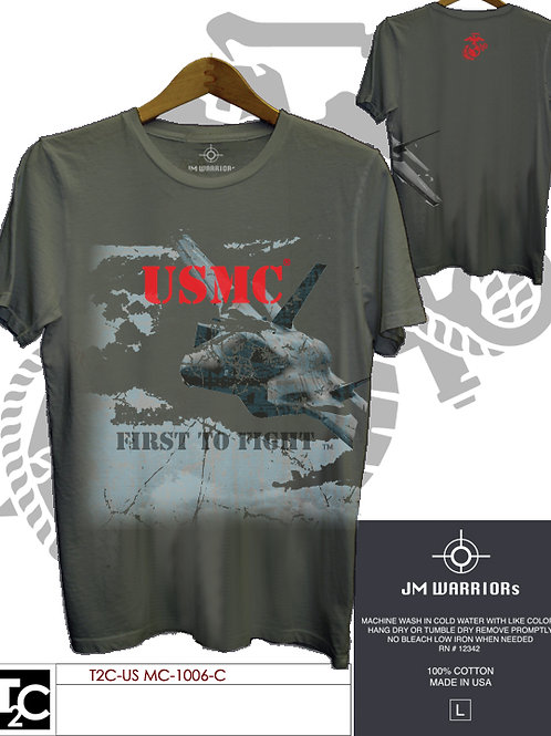 US Marine First to Fight Shirt