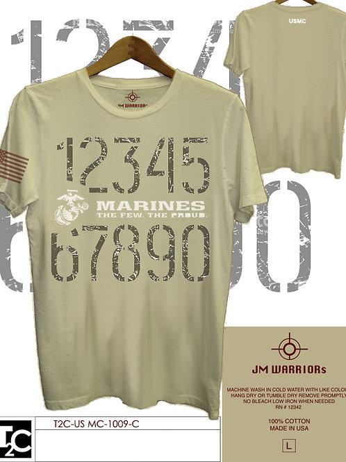 US Marine 123456 Shirt