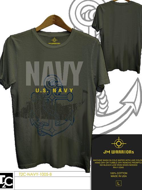 US Navy Anker & Battleship Shirt