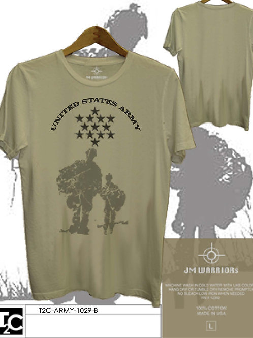 US Army Star & Two Soldiers Shirt
