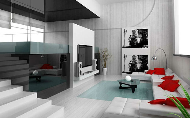 Modern Living Room HOme Interior Design Ideas Part 98