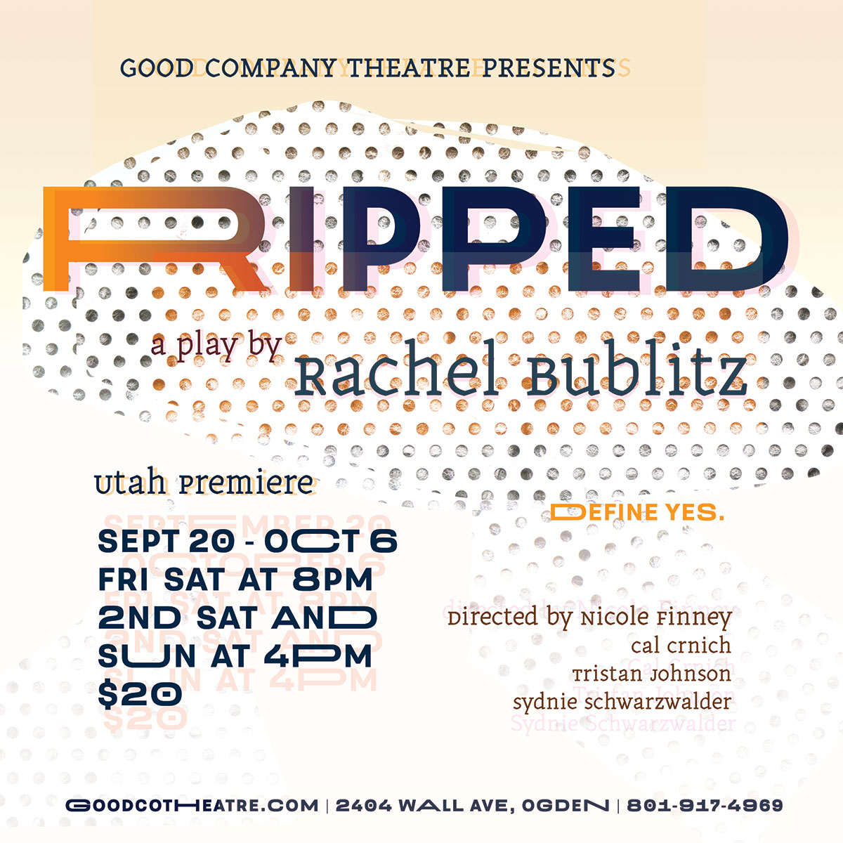 Ripped Rachel Bublitz Good Company Theat