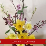 Second Prize Floral Art.png