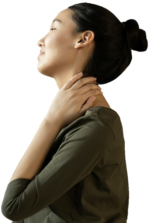 patient with back and persistent pain