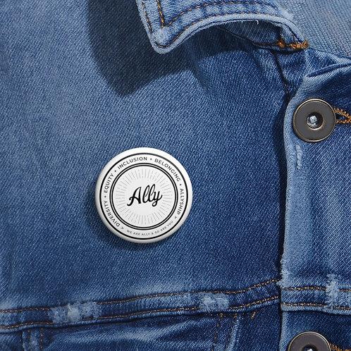 Values Ally Pin