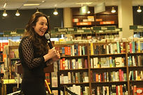 Anya Wallach at the Stagestruck Barnes and Noble launch