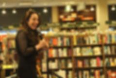 Anya Wallach at Barnes and Noble